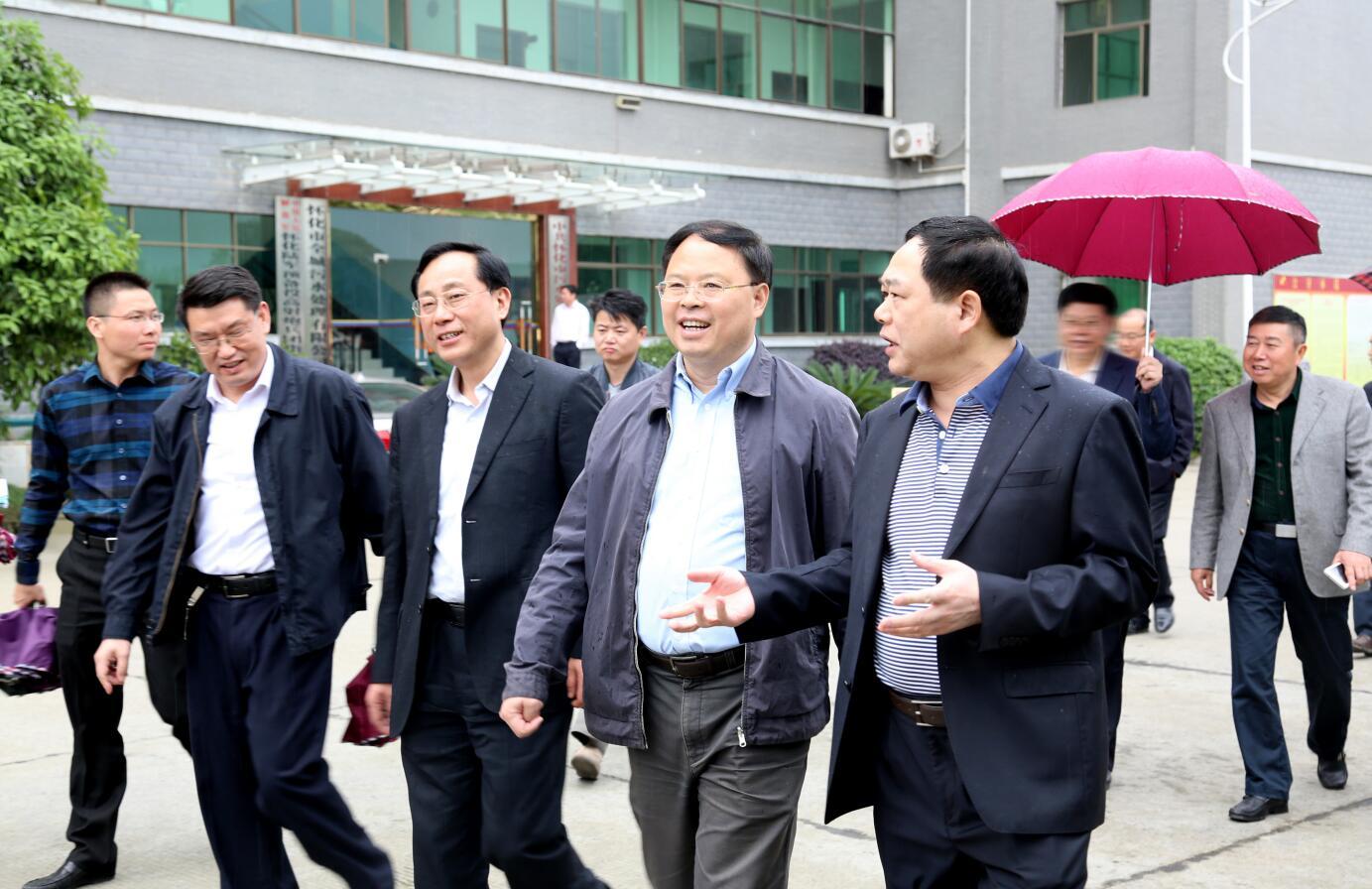 2015年4月,省委常委副省長張劍飛蒞臨公司視察.JPG
