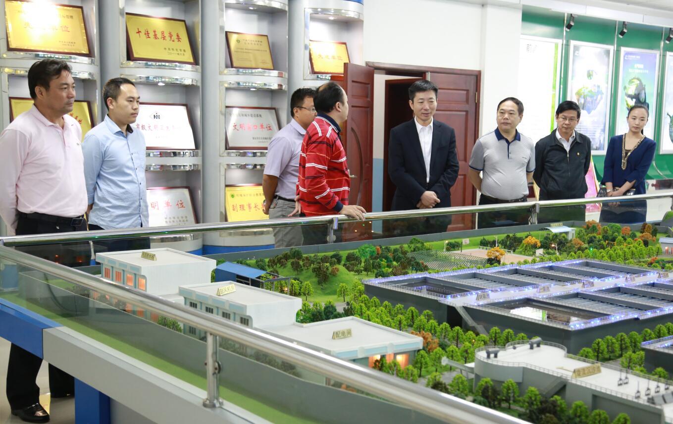 2015年10月,副市長胡長春一行蒞臨公司調研.JPG